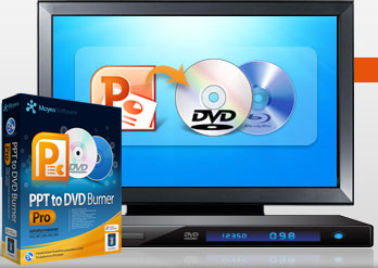 Convert PowerPoint to DVD for playback on DVD player
