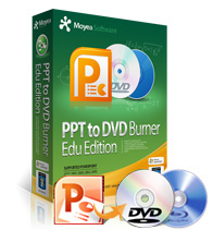 Moyea PPT to DVD Burner Edu Edition boxshot